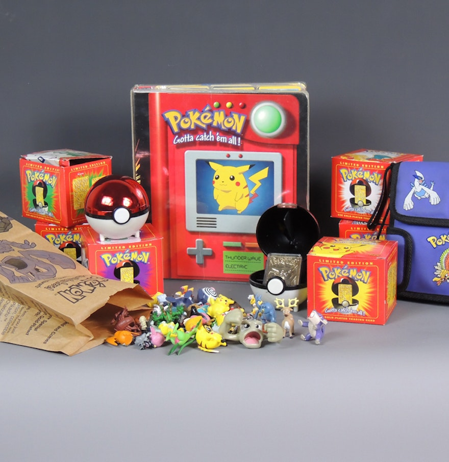 Toys For Cards : Vintage pokemon cards toys collection ebth