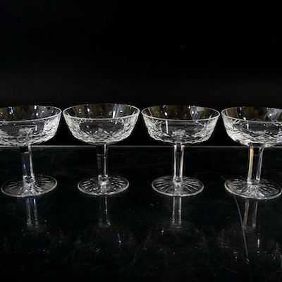 Vintage tableware auction antique tableware auctions in lebanon oh antiques fine jewelry - Waterford champagne coupe ...