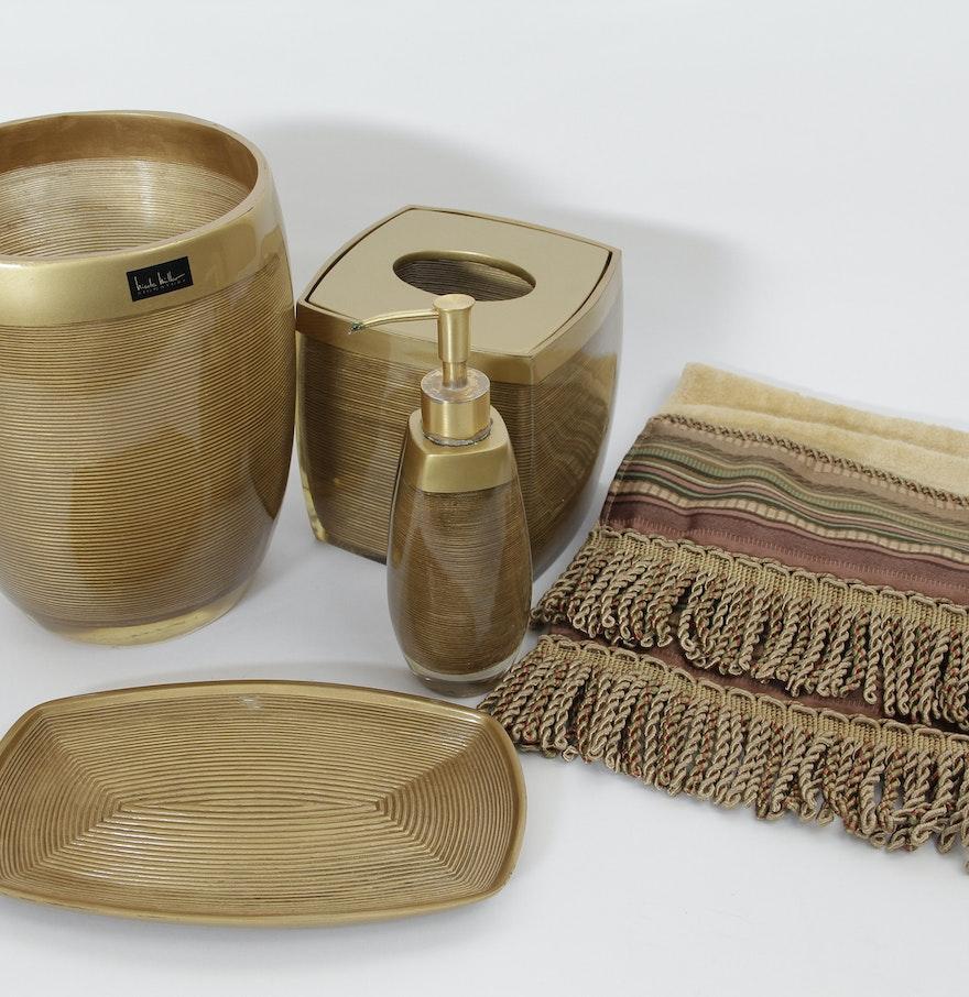 Miller bathroom fittings - Nicole Miller Bathroom Accessories