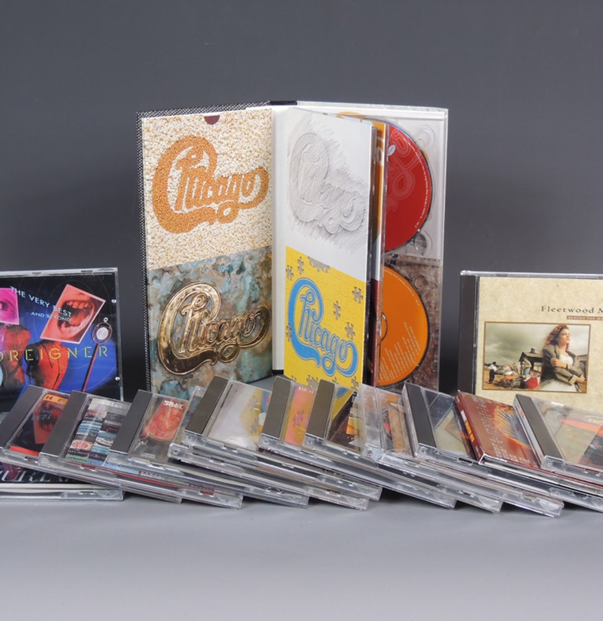 Classic Rock CD Collection Chicago Boxed Set : EBTH