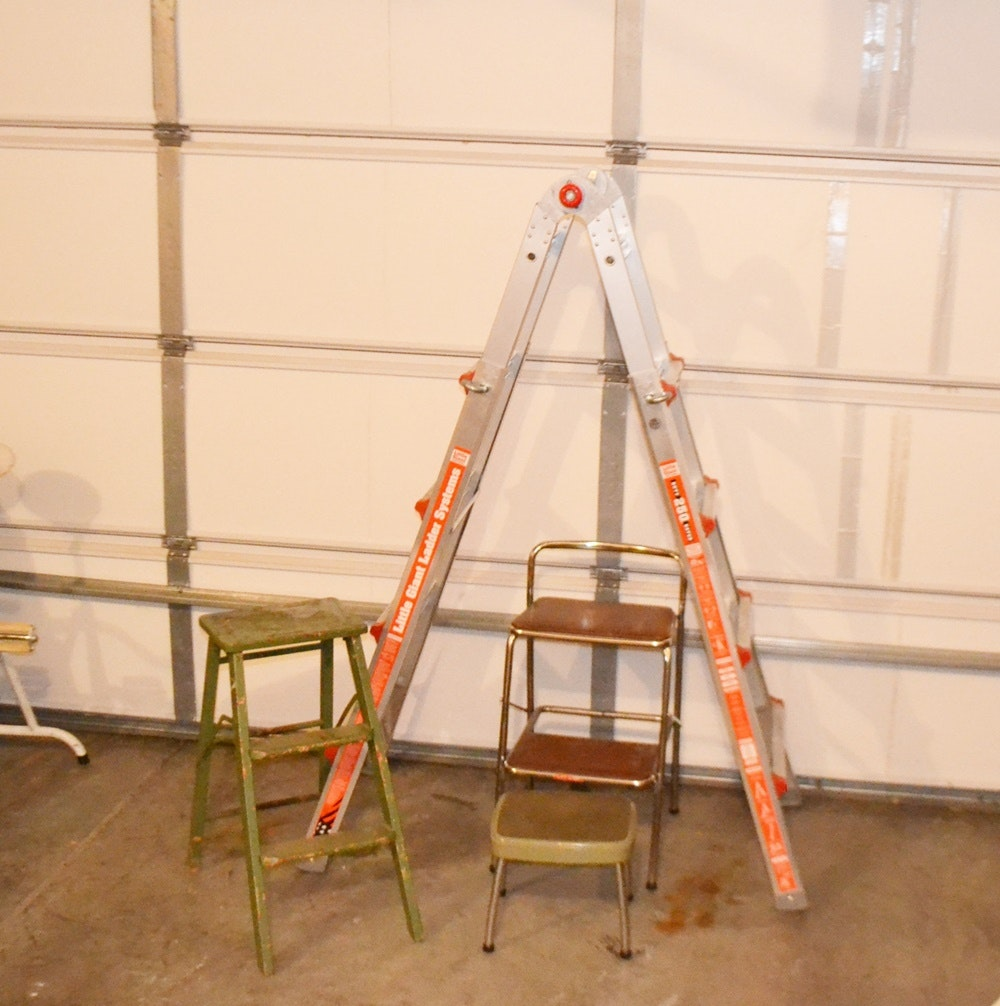 Little Giant Ladder and Step Stools ... & Little Giant Ladder and Step Stools : EBTH islam-shia.org
