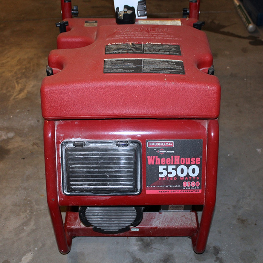 Briggs & Stratton Wheelhouse Heavy Duty Generator