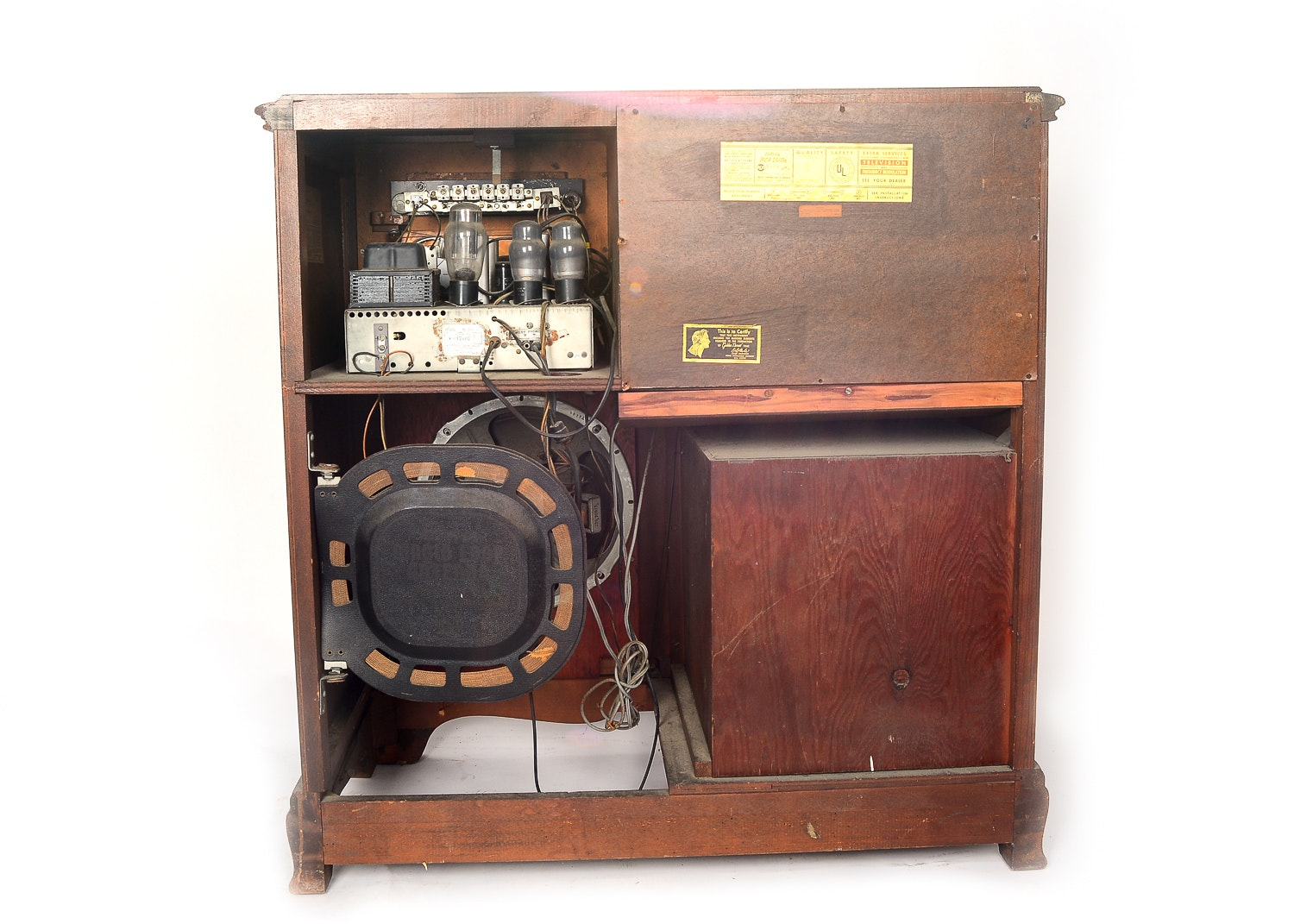 1946 Rca Victor Victrola Stereo Cabinet Ebth
