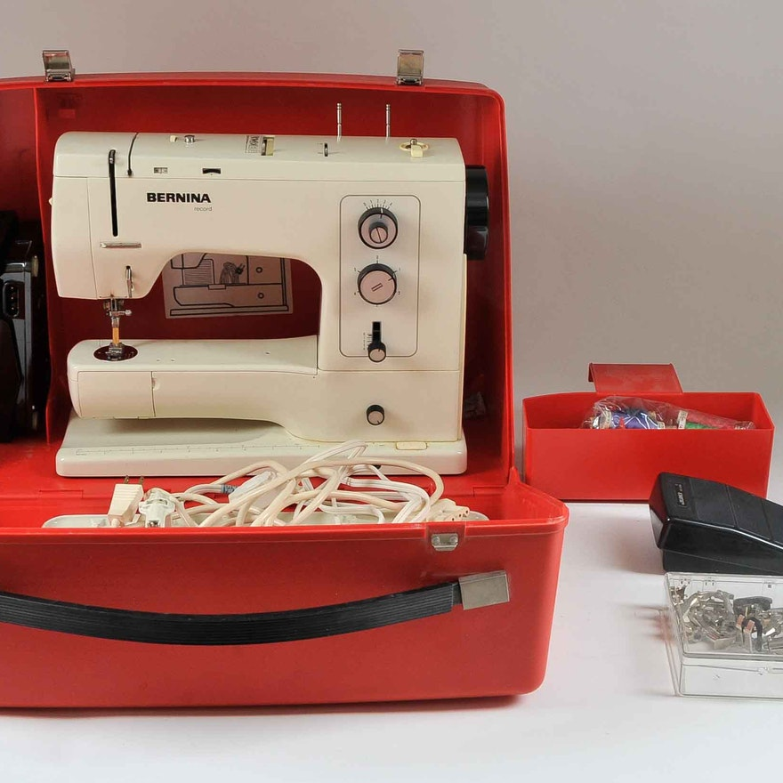 Bernina Record 40 Sewing Machine EBTH Custom Bernina 830e Sewing Machine