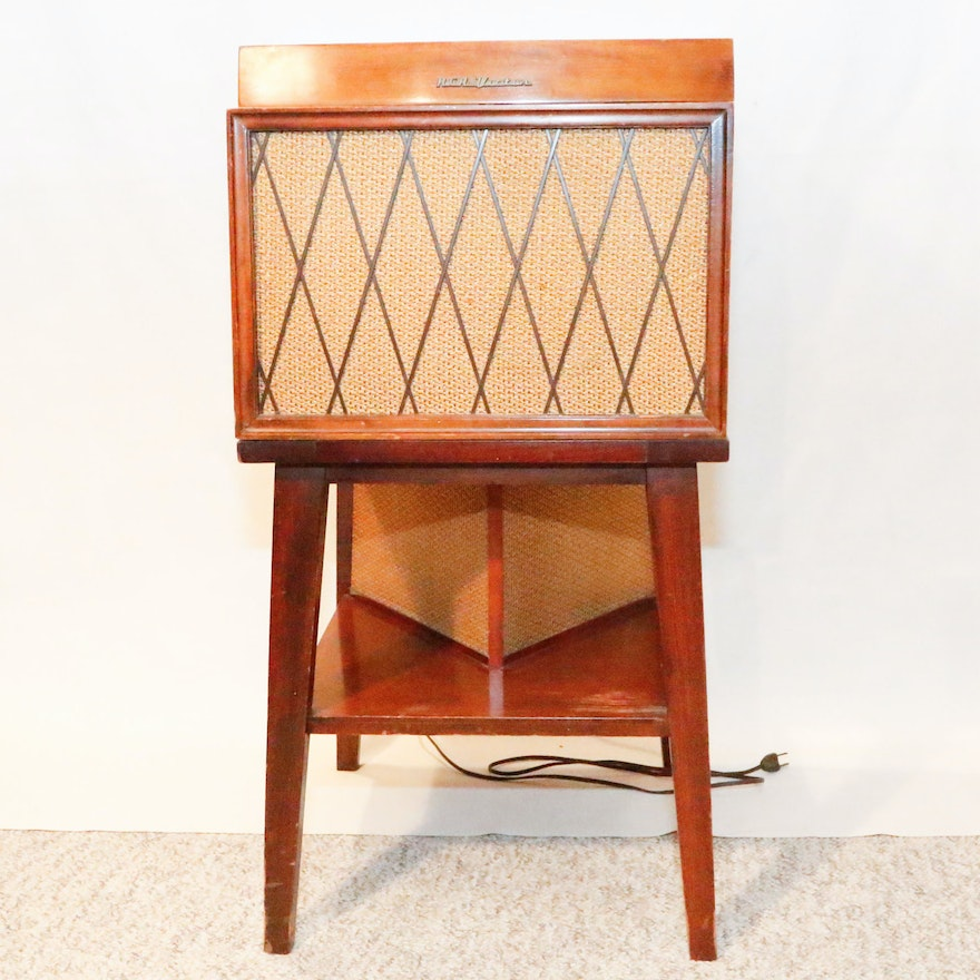 1953 RCA Victor Phonograph with Optional Speaker Stand