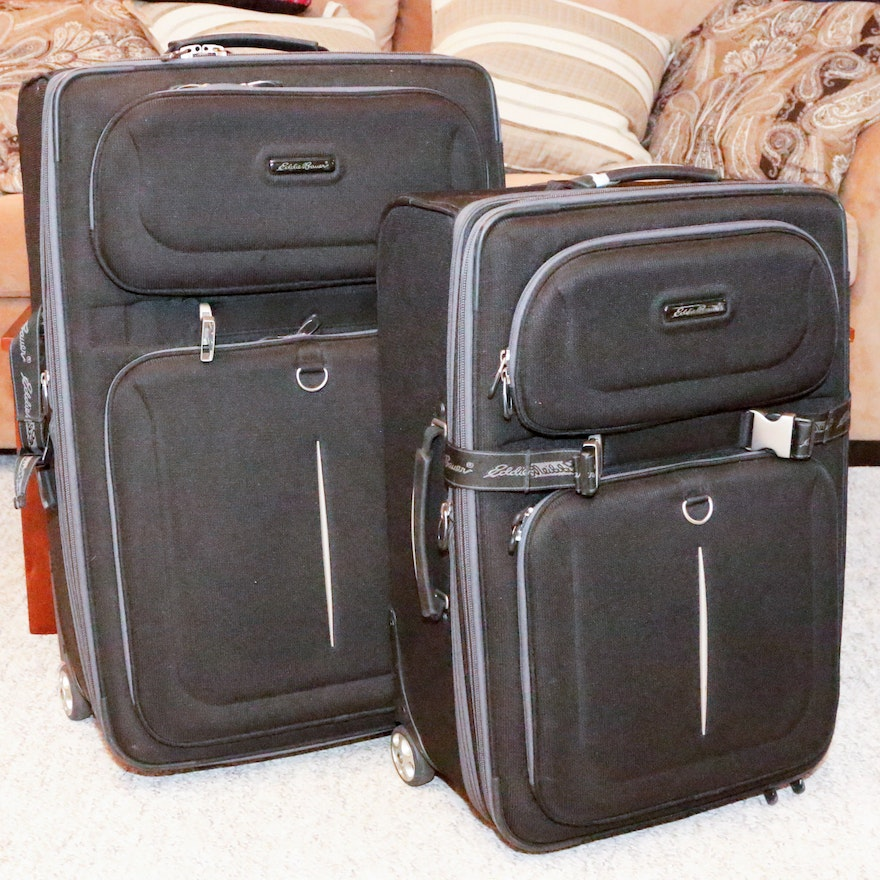 17366acf6f8f Two-Piece Eddie Bauer Luggage Set   EBTH