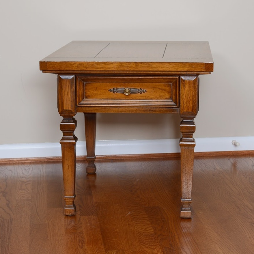 Vintage Thomasville End Table