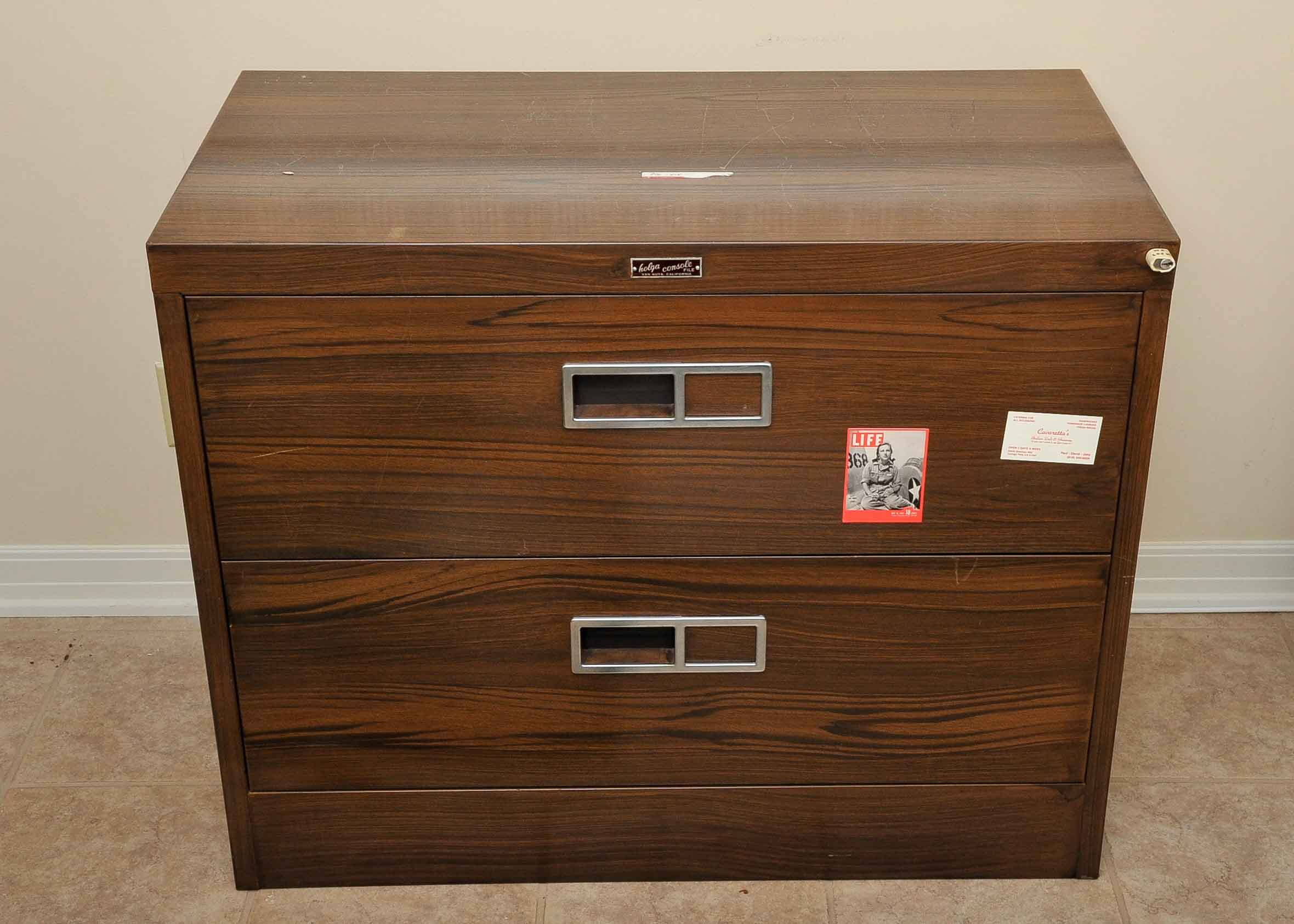 Holga Console Filing Cabinet : EBTH