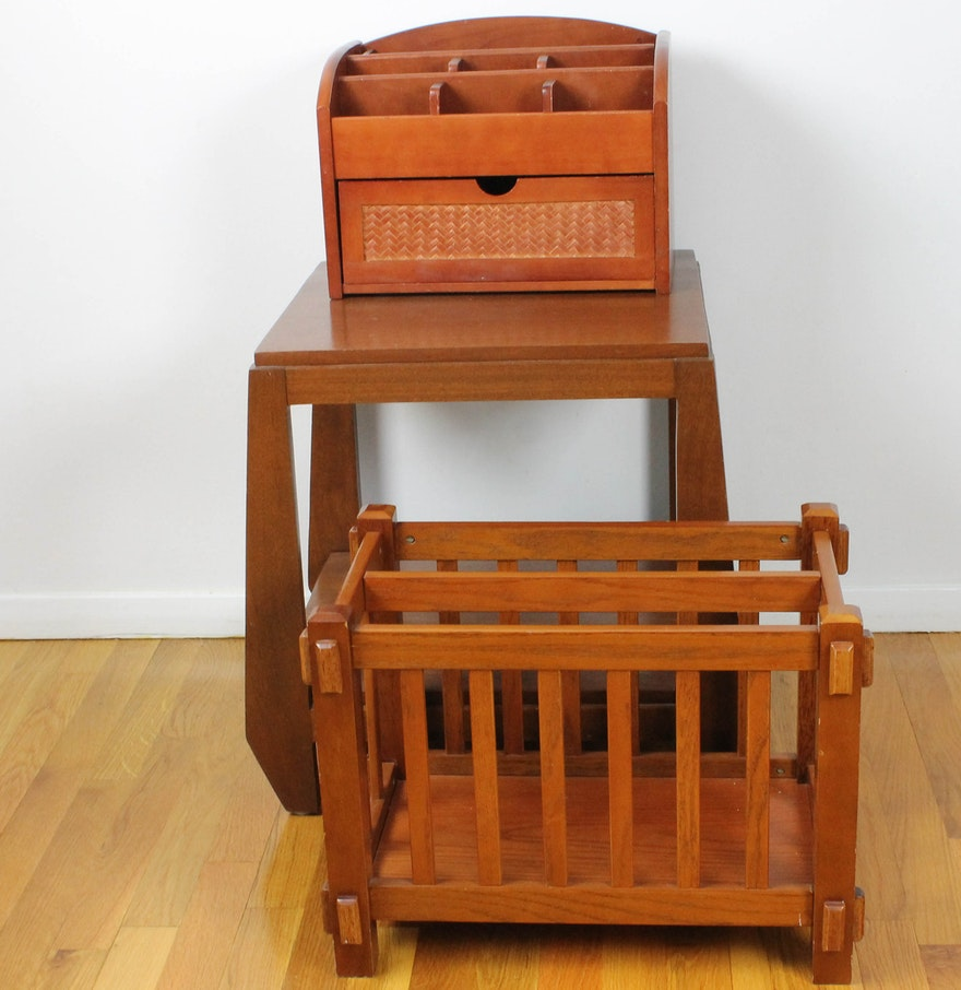 Decorative Arts And Crafts Style Wooden Furniture Pieces Ebth
