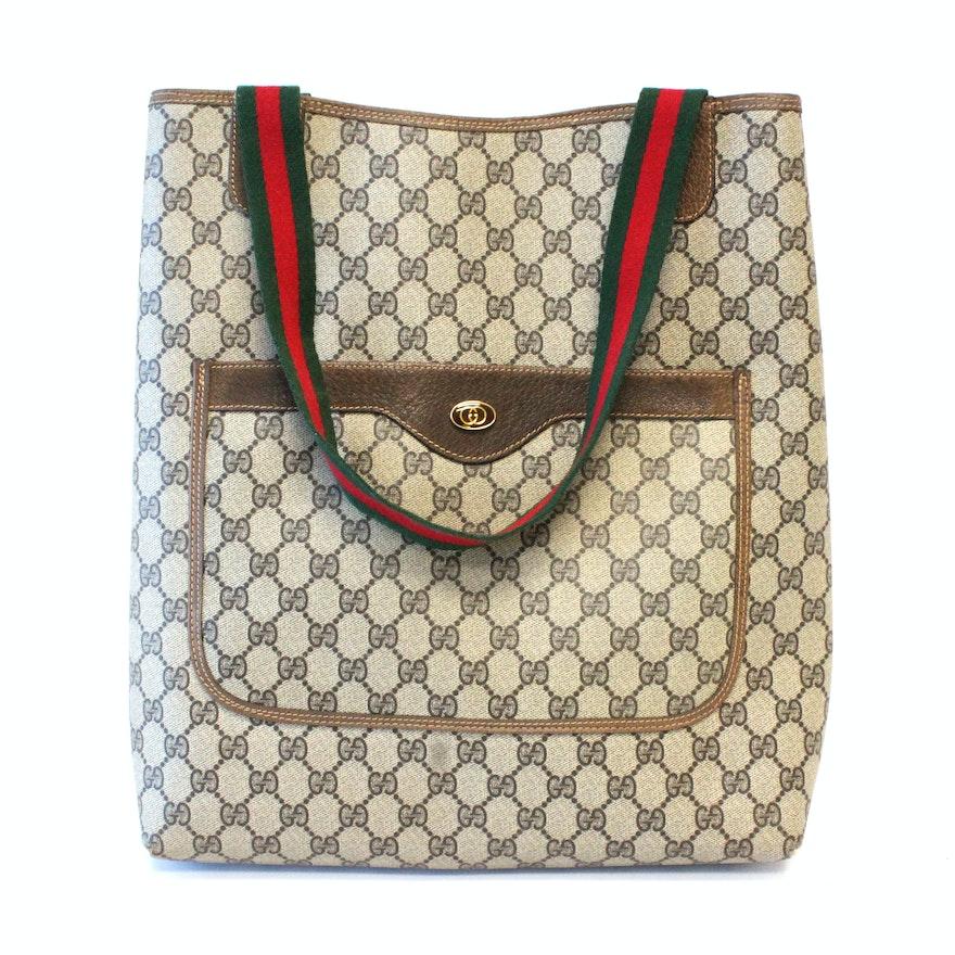 efc485142d7 Vintage Gucci Accessories Collection Tote Bag   EBTH