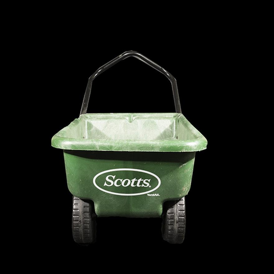 Scotts lawn garden cart the best cart for Garden tools for 4 wheeler