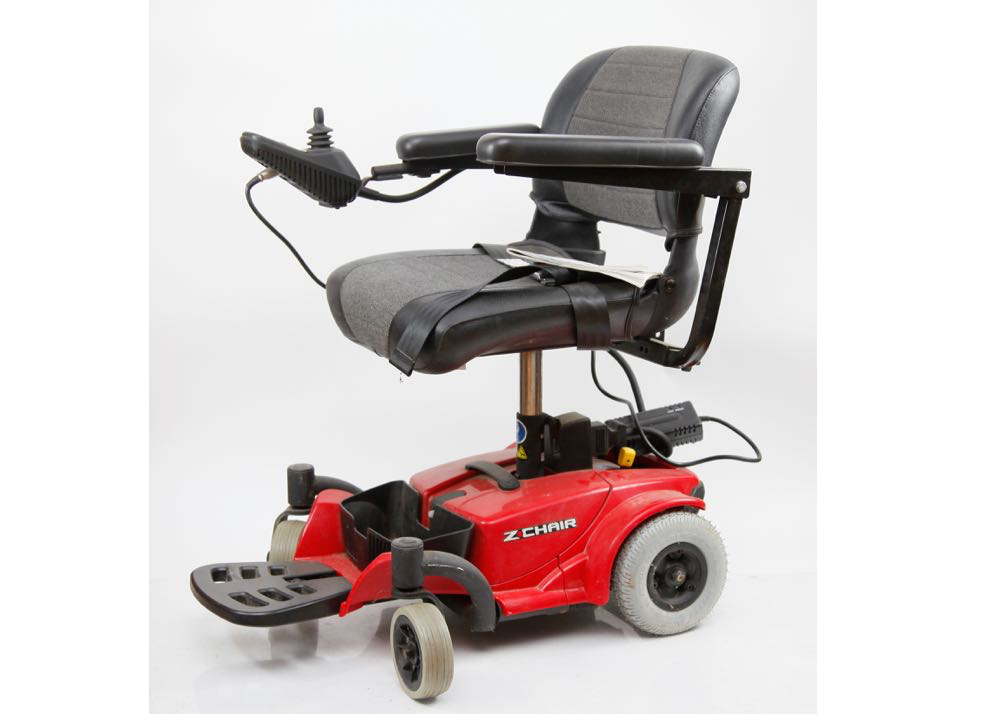 Z Chair by Pride Mobility Motorized Wheelchair EBTH