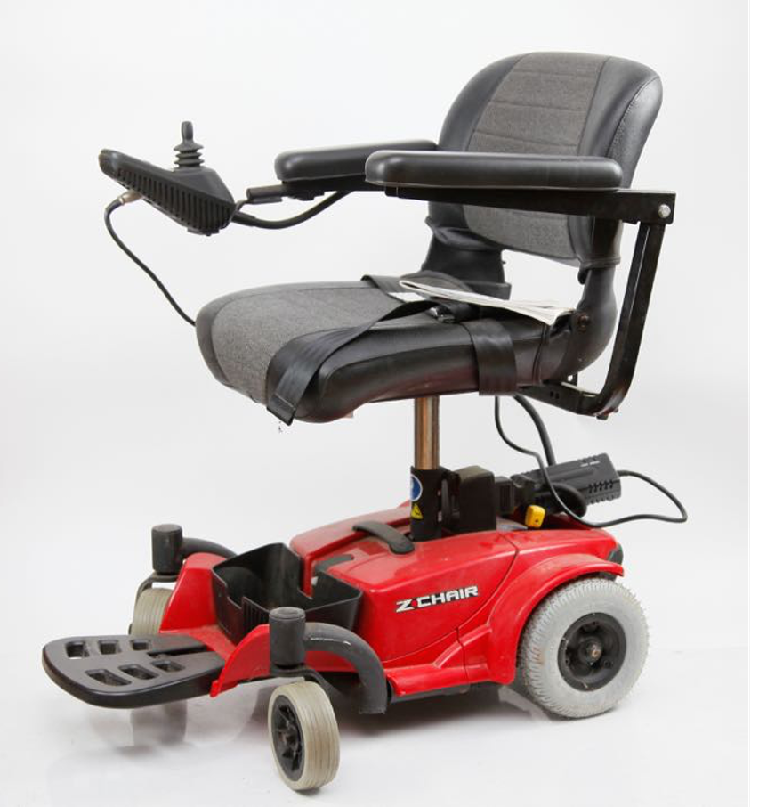 Z chair by pride mobility motorized wheelchair ebth for How to motorize a wheelchair