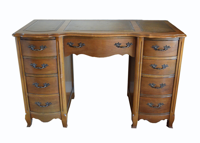 Bassett Furniture Leather Top Desk ...