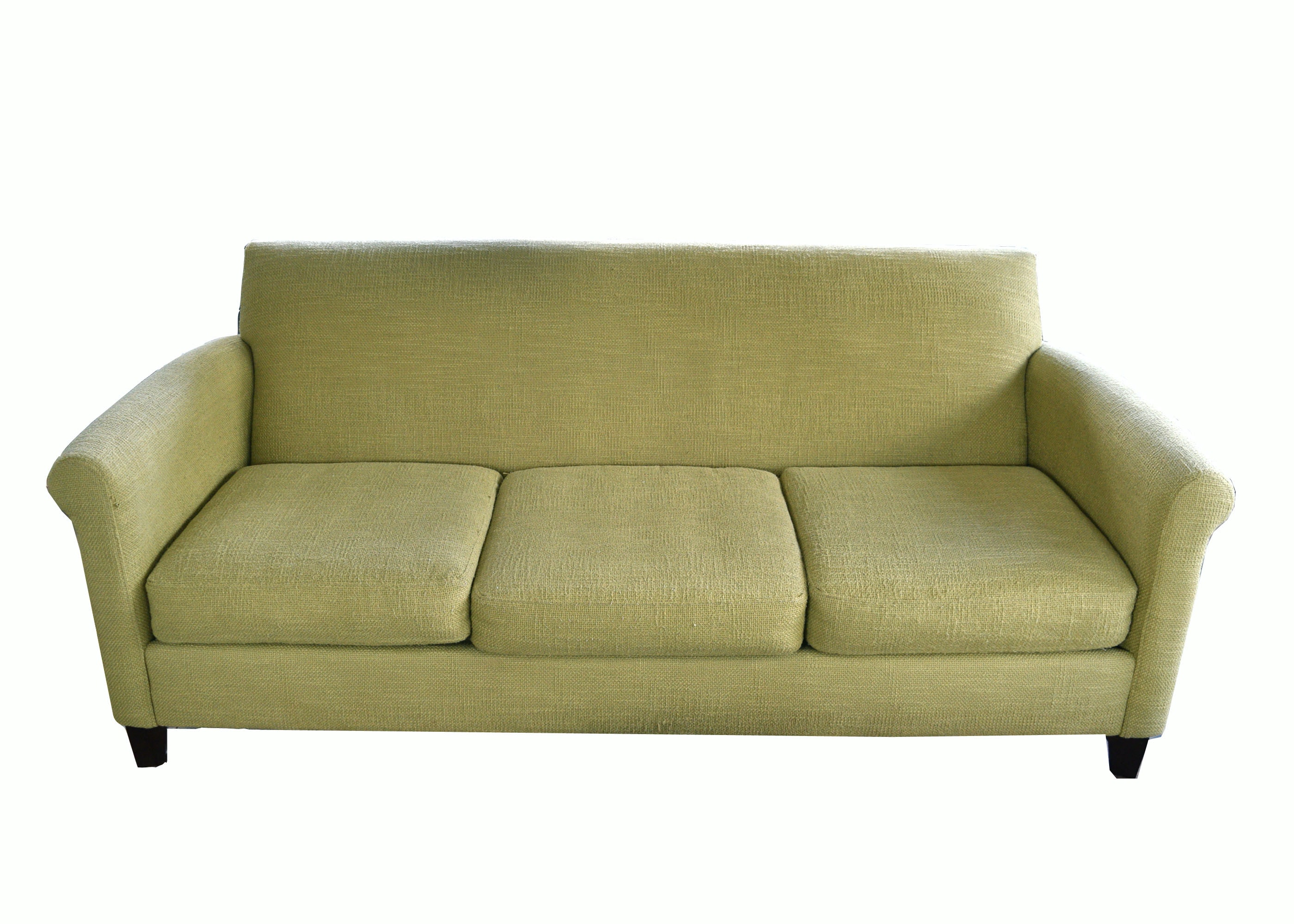 Bon Macyu0027s U0027Max Homeu0027 Olive Colored Linen Sofa ...