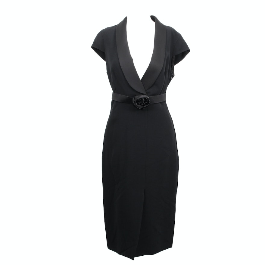 New Without Tag Max Mara Pianoforte Little Black Dress Ebth