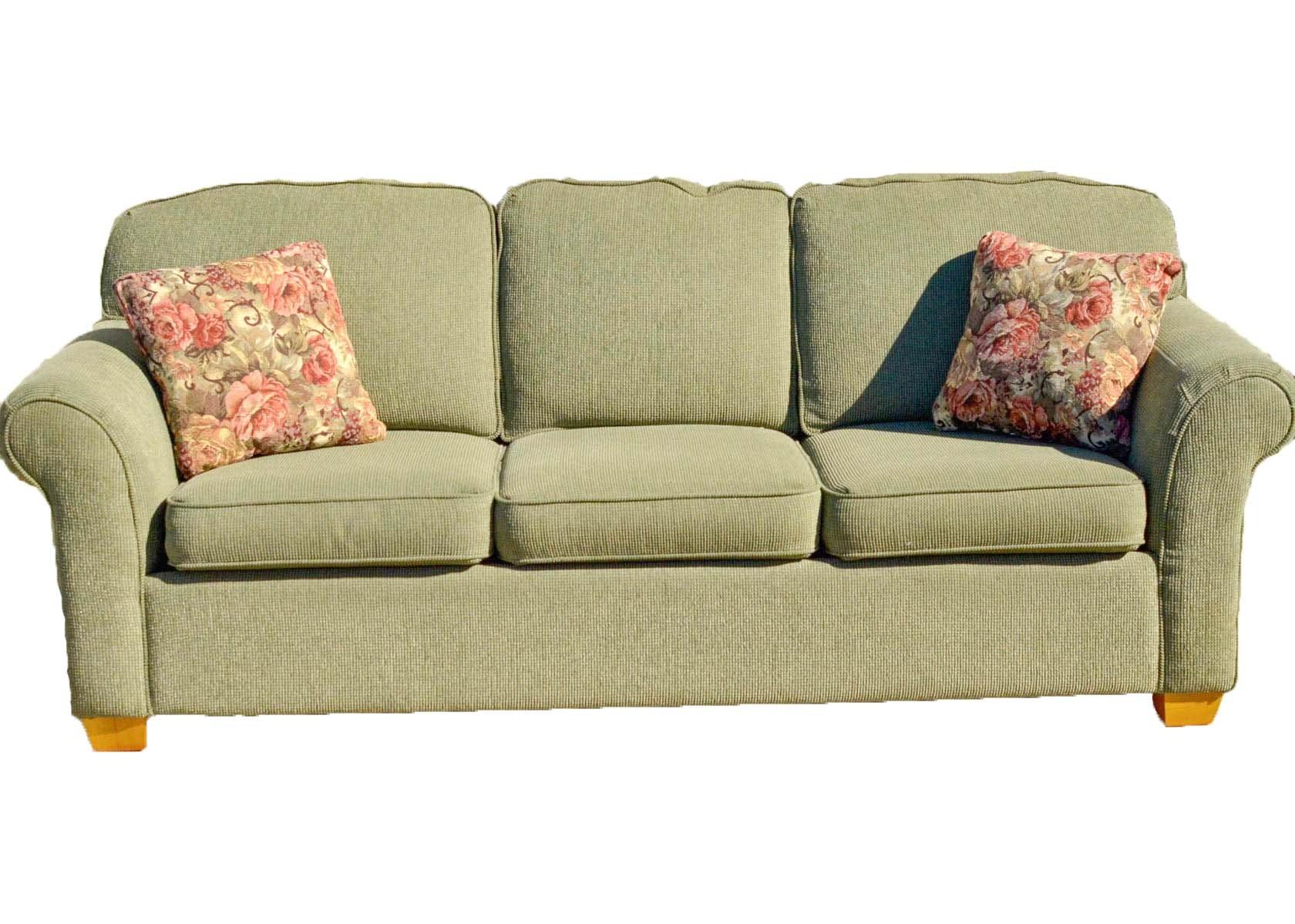 Sage Green Lazy Boy Sofa ...
