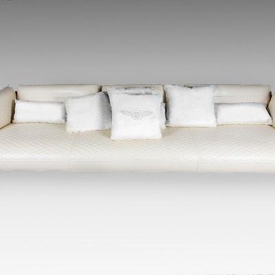 Bentley Home Collection Contemporary Sofa. Online Furniture Auctions   Vintage Furniture Auction   Antique