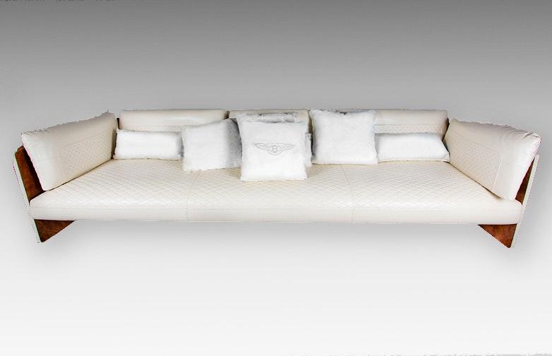 Bentley Home Collection Contemporary Sofa