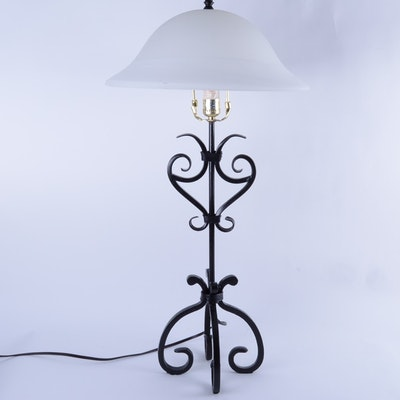 antique floor lamps table lamps and light fixtures. Black Bedroom Furniture Sets. Home Design Ideas