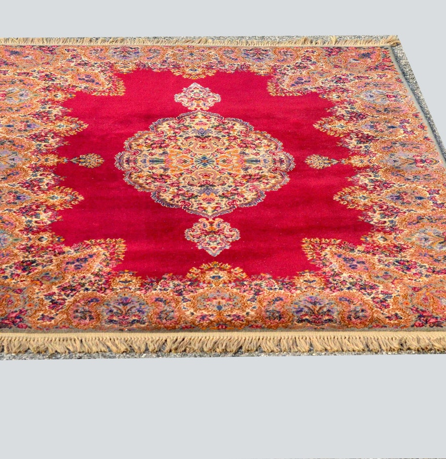 Oriental Rugs Jupiter Florida: Center Medallion Oriental Style Area Rug : EBTH