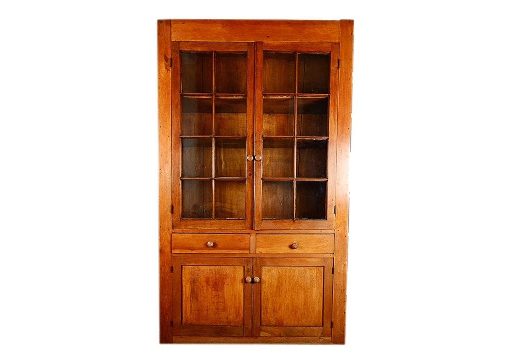 Circa 1850 Kentucky Made Cherry Cabinet