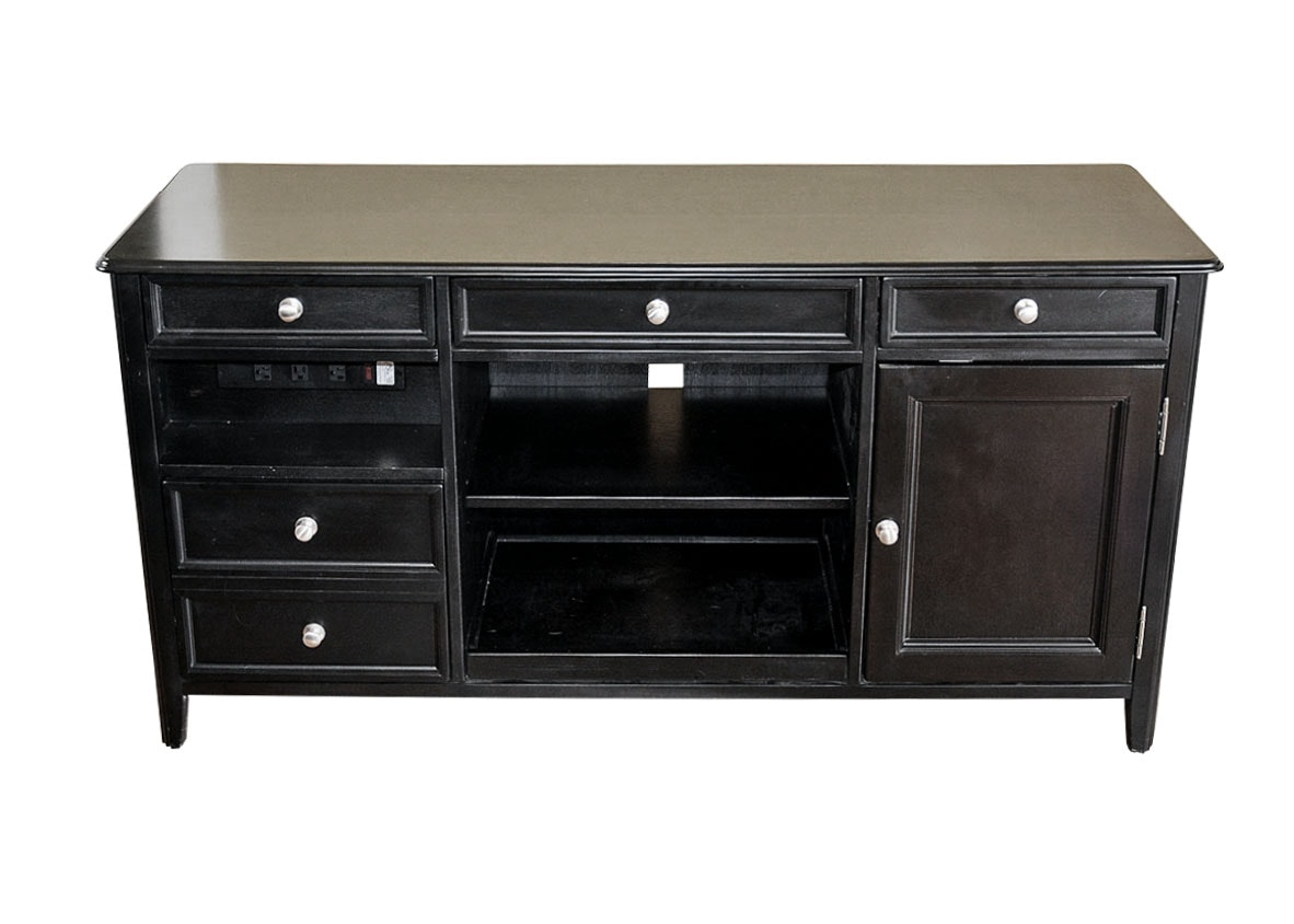 Beau Carlyle Office Credenza By Ashley Furniture ...