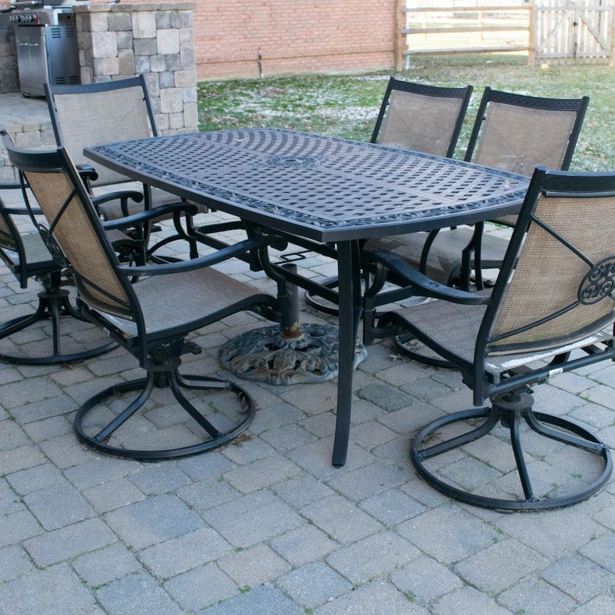 Martha Stewart Patio Table And Chairs Set Ebth