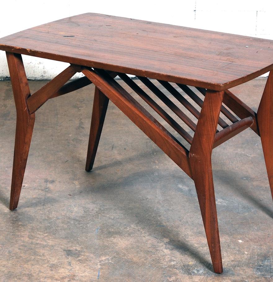 Mid Century Modern Mersman Mahogany Veneer Coffee Table : EBTH