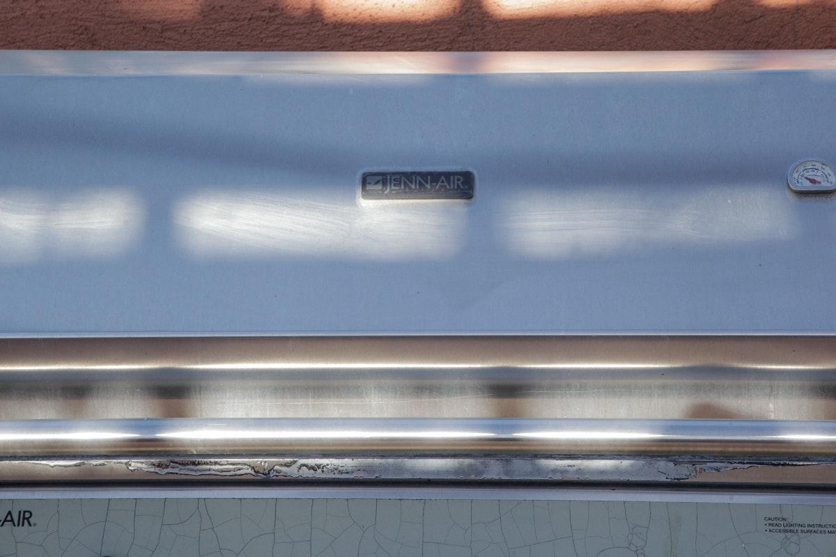 Propane Gas: Jenn Air Outdoor Propane Gas Grill