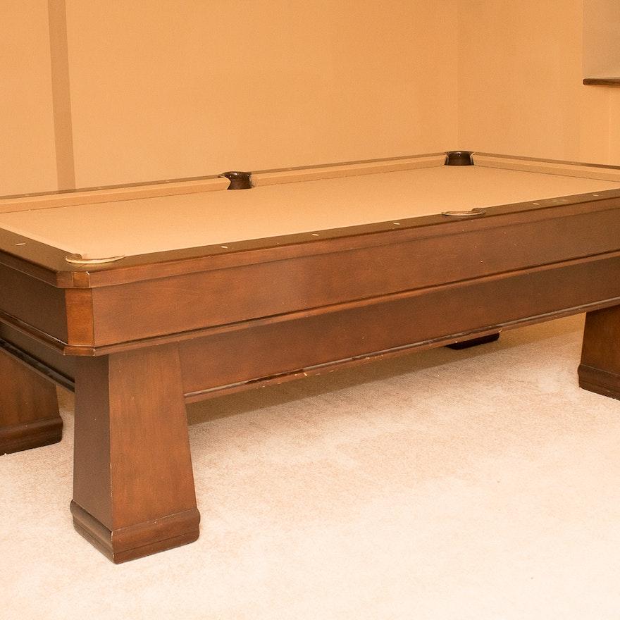Beach Manufacturing Billiard Table EBTH - Beach manufacturing pool table