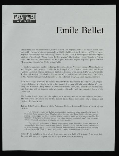 Emile bellet seriolithograph interieur ebth for Emile bellet interieur