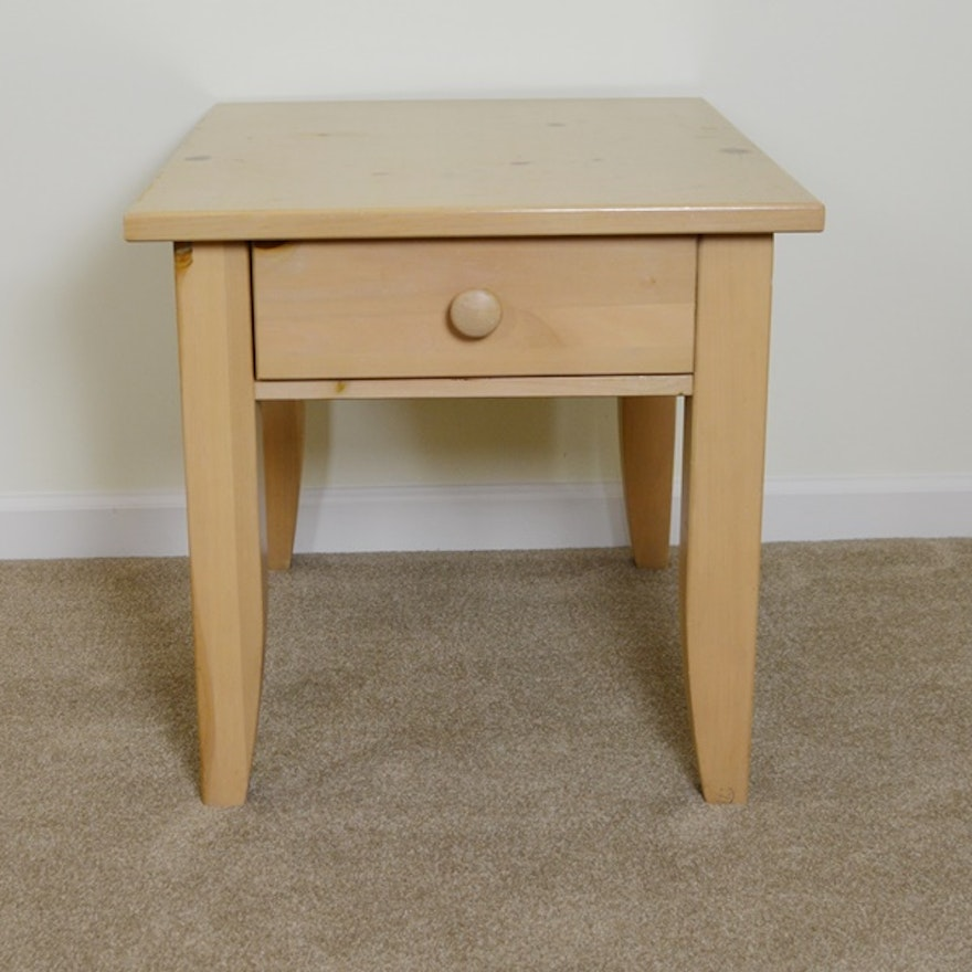 Broyhill Pine End Table