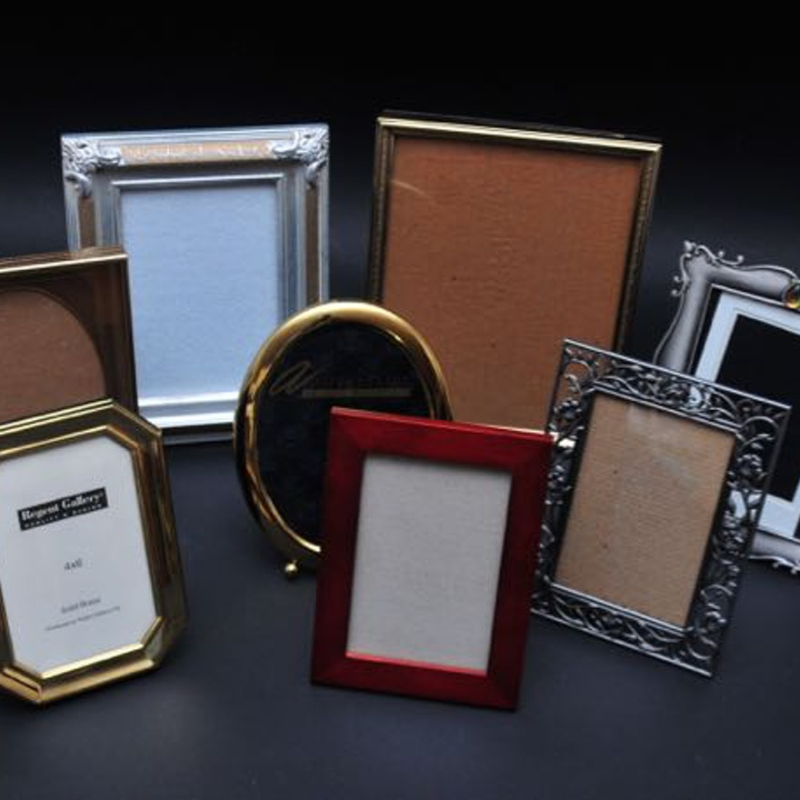 Gold and Silver Picture Frame Assortment : EBTH