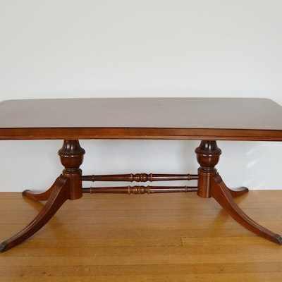 Kitchen Table Duncan Phyfe Federal Style Mahogany
