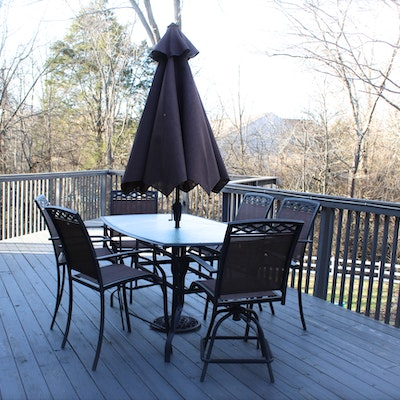 Outdoor furniture outdoor decor and garden tools auction for Summer winds patio furniture