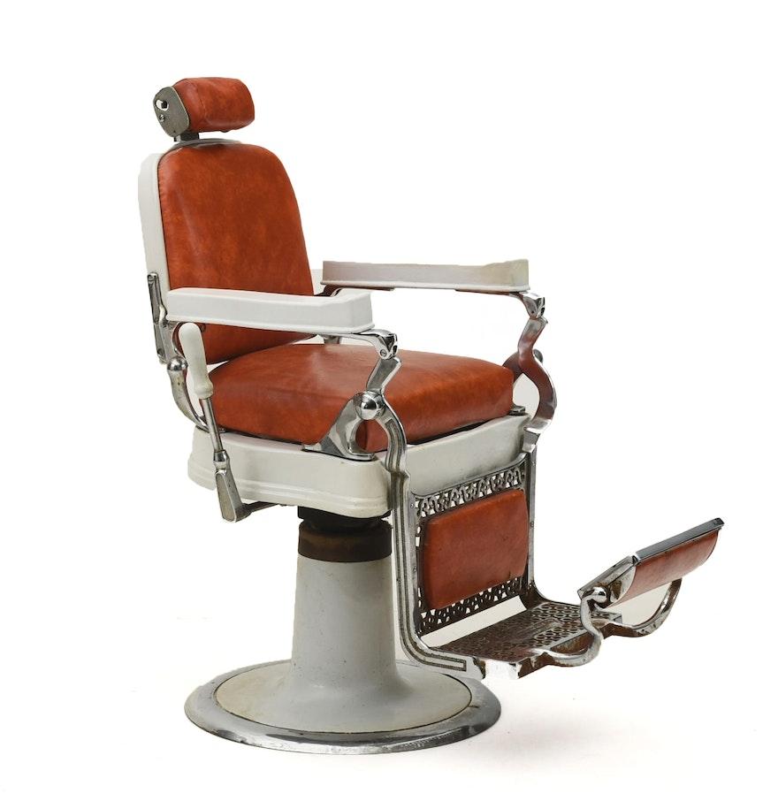 Early 20th Century Belmont Hercules Barber Chair EBTH – Hercules Barber Chair