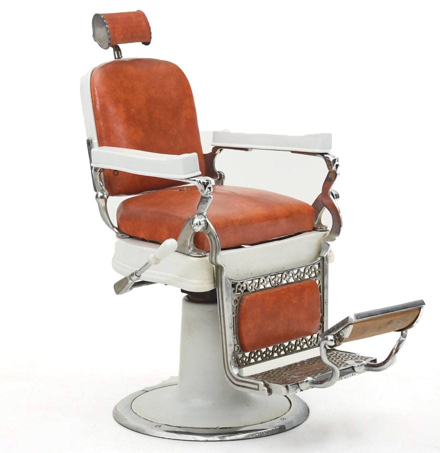 Belmont Hercules Barber Chair EBTH – Hercules Barber Chair