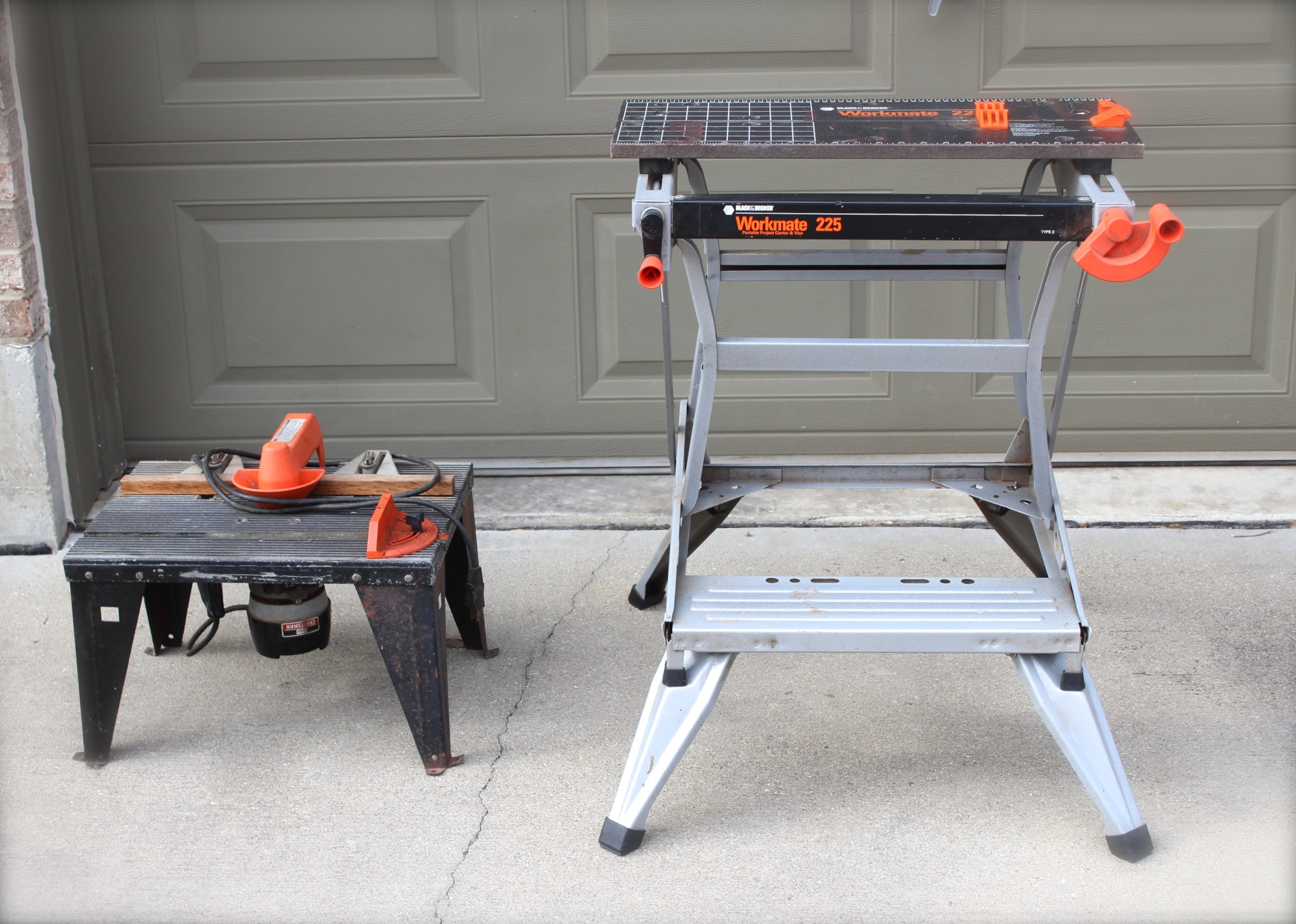 Craftsman Router Table and Black & Decker Work Bench : EBTH