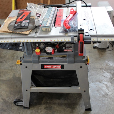 Milford oh home furnishings d cor more 16cin062 ebth for 10 inch table saw craftsman