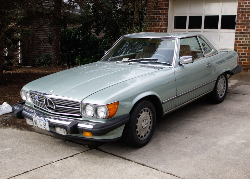 1987 Mercedes Benz 560sl Convertible Ebth