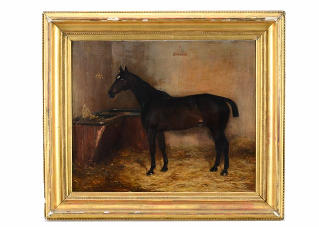 Anthony de Brie Oil Painting of Horse