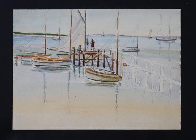 Unsigned Graeme Mitchell Original Watercolor