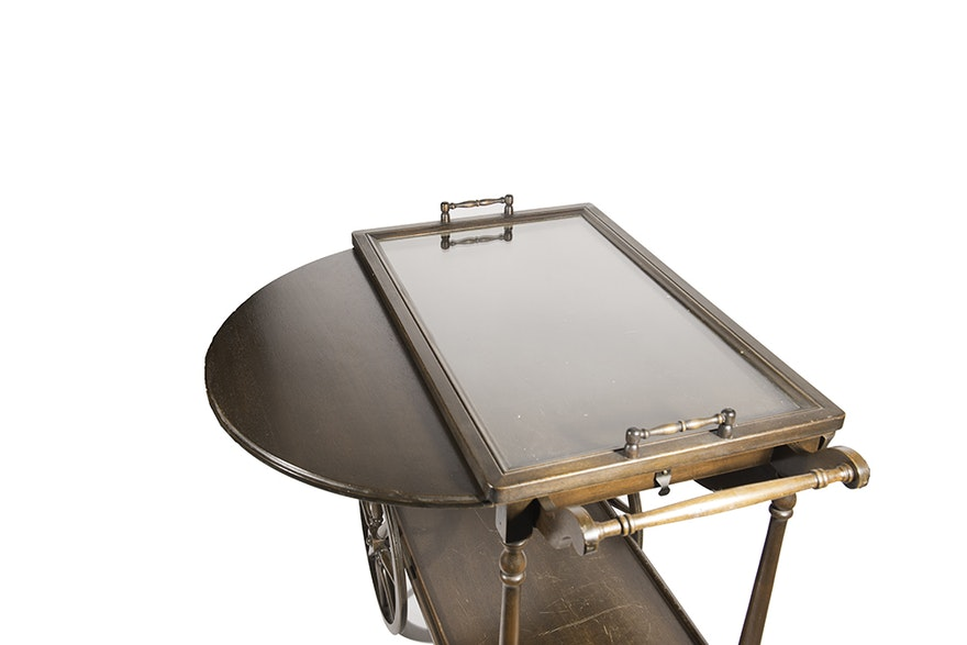 Paalman Furniture Co Tea Cart Ebth