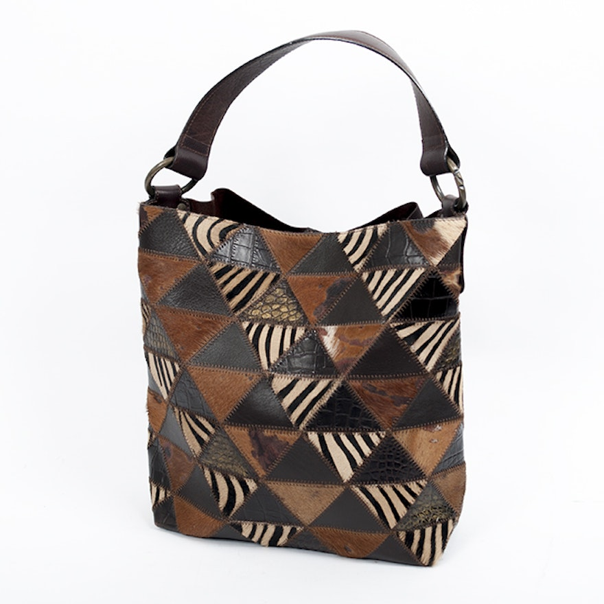 Nordstrom Animal Print Hobo Bag