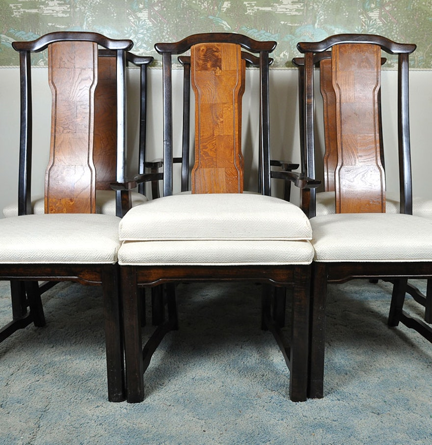 """Broyhill """"Ming Dynasty"""" Premier Collection Dining Chairs"""