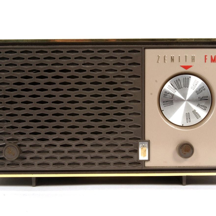 Circa 1950 Zenith Radio