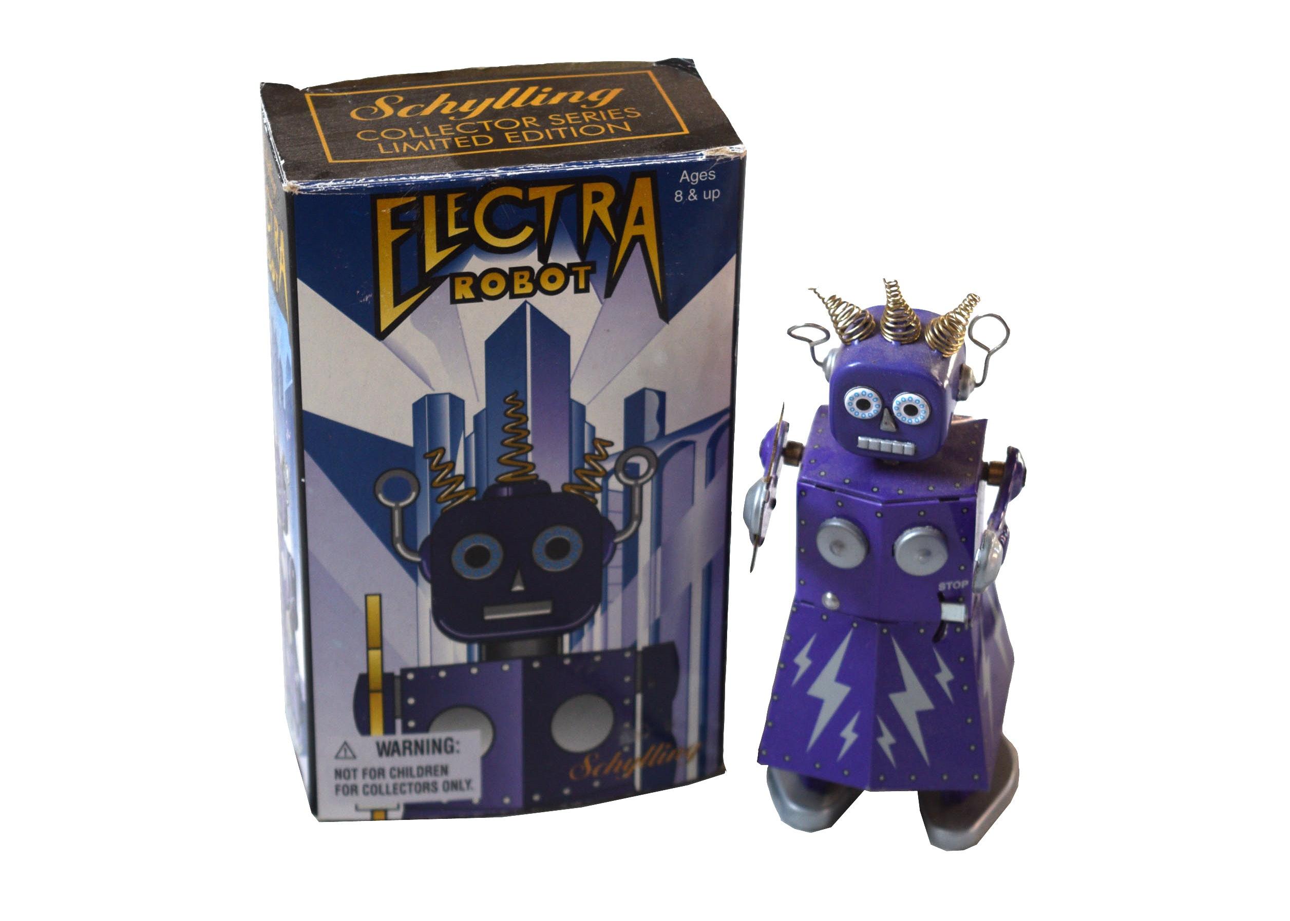 Electra Robot Toy Ebth