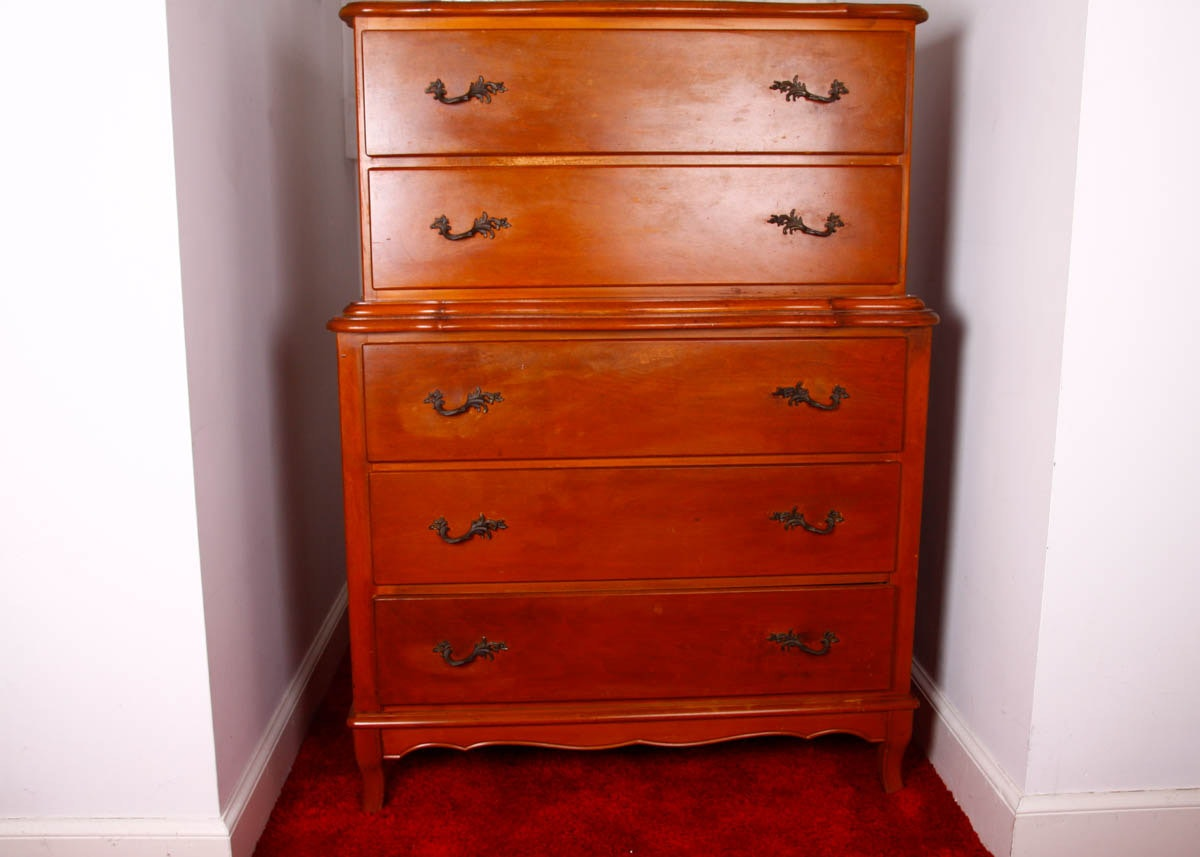 Genial Edison Little Folks Furniture Maple Five Drawer Dresser ...