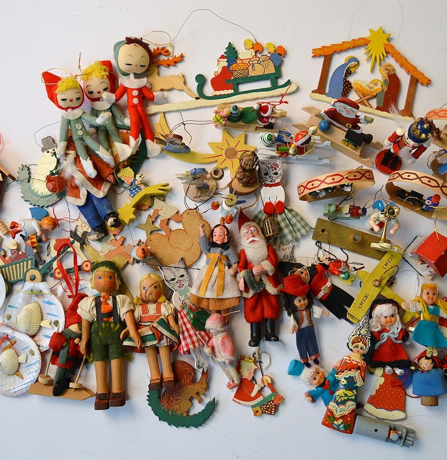 Vintage European Christmas Ornaments : EBTH